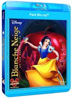 Blanche-neige pack blu ray