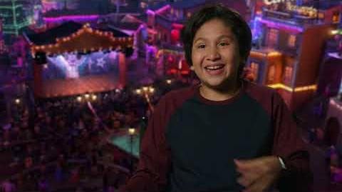 """Coco Official """"Miguel"""" Interview with Anthony Gonzalez"""
