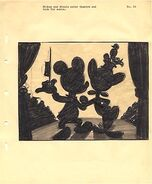 Disney's Mickey Mouse - The Nifty Nineties - Storyboard - 2