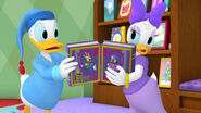 Donald and daisy love books