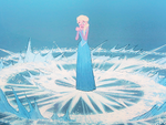 Elsa discovers her powers