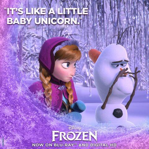 File:Frozen It's Like a Little Baby Unicorn Promotion.jpg