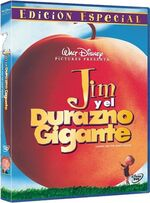 James and the Giant Peach Mexico DVD