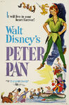Peter Pan 1958 Re-release Poster