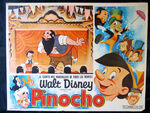 Pinocchio mexican lobby card