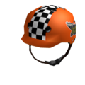 Radical Orange Helmet