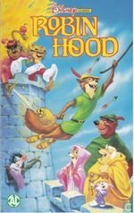 Robin Hood 1996 Dutch VHS