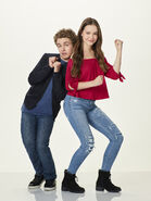 Sean Giambrone and Sadie Stanley cast for Kim Possible