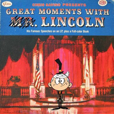 TLH Great Moments With Lincoln Parody Art