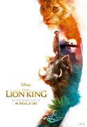 The Lion King 2019 Real D 3D Hakuna Matata Poster
