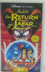 The Return Of Jafar 1995 AUS VHS