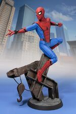 Art FX Homecoming suit Spidey