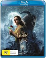 Beauty and the a Beast Live Action 2017 AUS Blu Ray