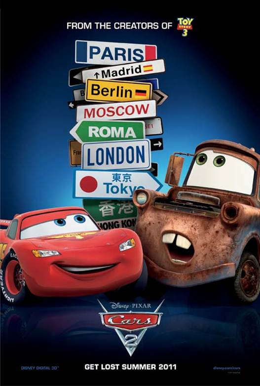 Image Cars 2 Poster Png Disney Wiki Fandom Powered By Wikia