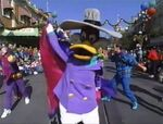 Darkwing in the 1994 Christmas parade