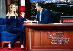 Elizabeth Olsen visits Stephen Colbert