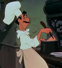 Joe cocinando