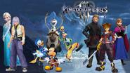 KHIII (New) Worlds - Arendelle (Frozen world)