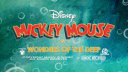 Mickey Mouse Wonders of the Deep Title card