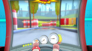 Racing game from the arcade
