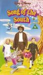 Song Of The South (1990 UK VHS) Front Cover