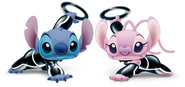 Stitch and Angel Tron Legacy