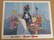The sword in the stone lobby card 2
