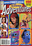 Disney Adventures Magazine cover April 2004 Super Comics Special
