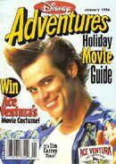 Disney adventures january 1996