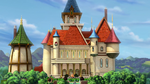 Enchancia Castle in Curse of Princess Ivy 1