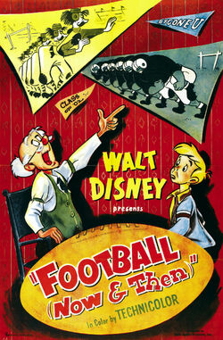 FootballNowandThen1953Poster
