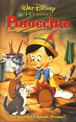 Pinocchio it vhs