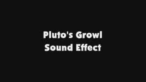 Pluto's Growl SFX