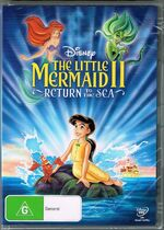 The Little Mermaid II Return to the Sea 2014 AUS DVD