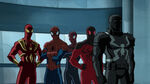 Ultimate Spider-Man - 4x05 - Lizards - Iron Spider, Spider-Man, Miles Morales, Scarlet Spider and Agent Venom