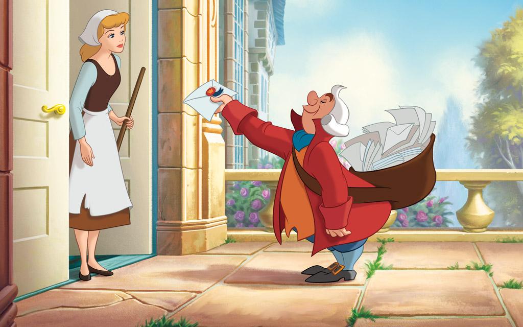 Disney Princess Cinderellas Story Illustraition 4