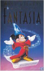 Fantasia 1991 Dutch VHS