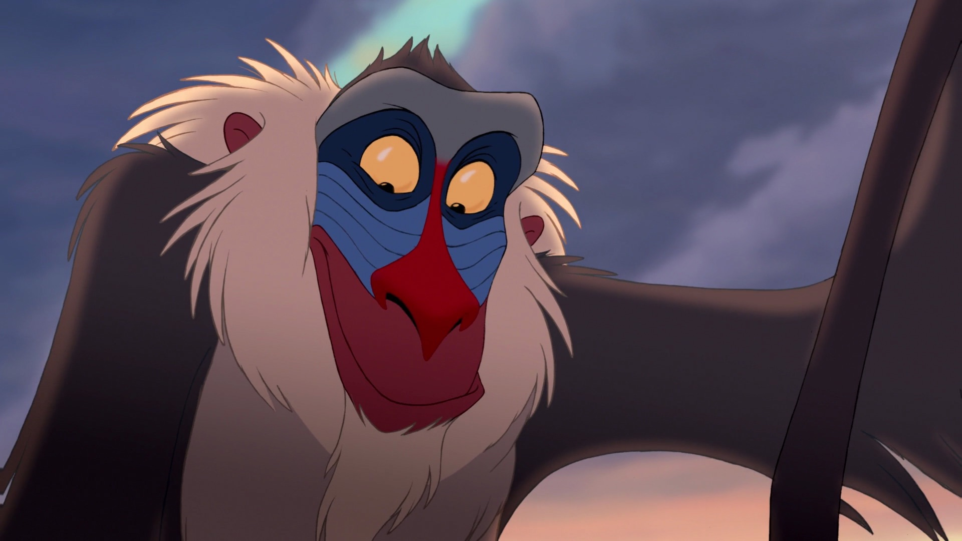 Image result for rafiki and mandrill