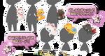 Marie, Berlioz, Toulouse - Kingdom Hearts χ