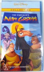 The Emperor's New Groove 2003 AUS VHS