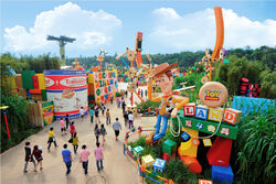 Toy Story Land at Hong Kong Disneyland