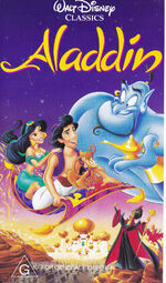 Aladdin 1994 AUS VHS