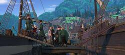 Der Herzog und seine Wachen werden abgeführt