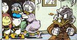 Family leaves $crooge