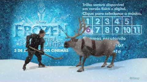Frozen - Uma Aventura Congelante - Curta a trilha sonora!