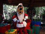 Goofy as Santa