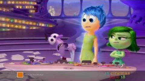 "Inside Out - Australian TV Spot ""Meet Fear"""