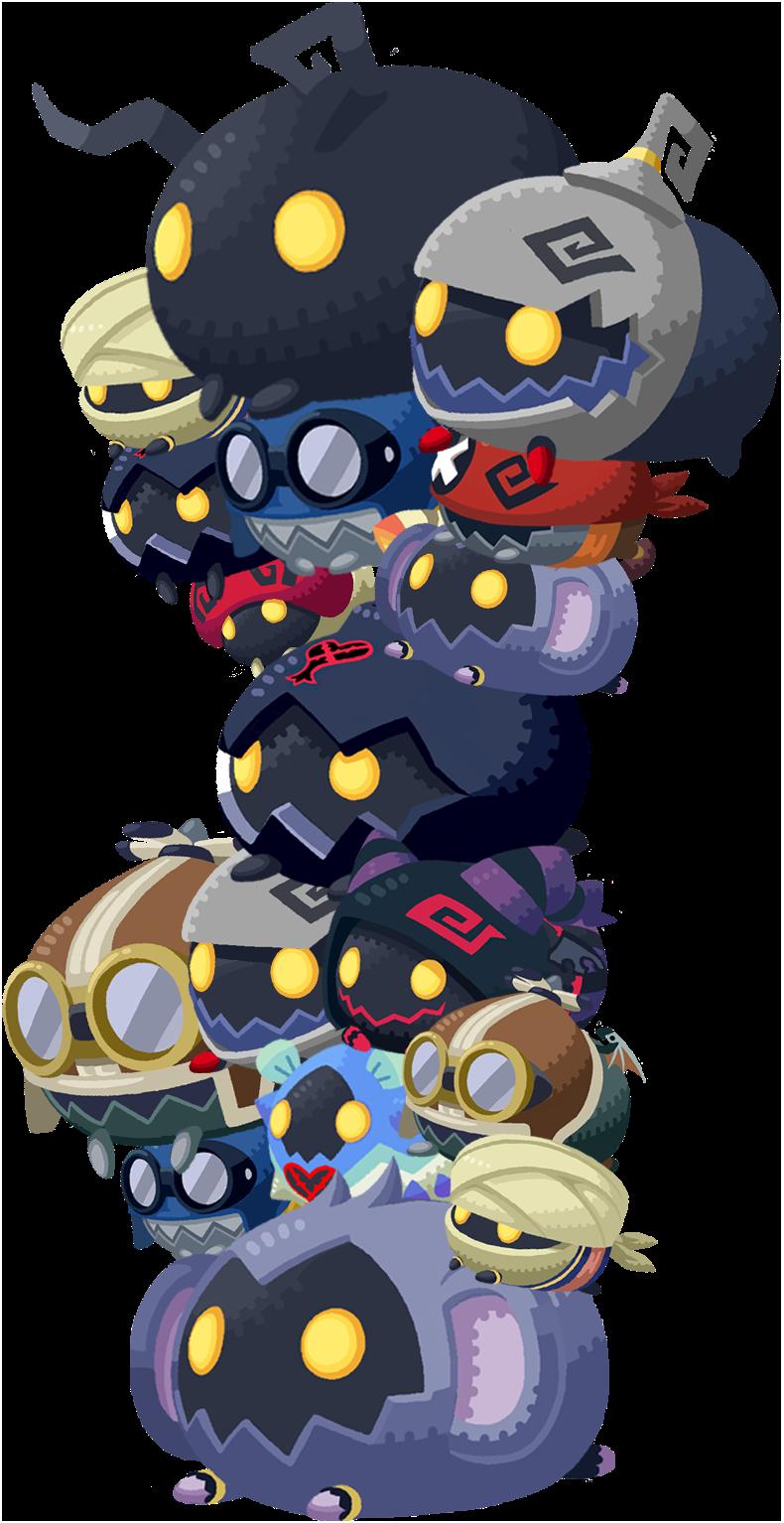 Image Kingdom Hearts Heartless Tsum Tsum Png Disney