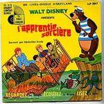 Livre-disque-disneyland-lapprentie-sorciere-33t-lp
