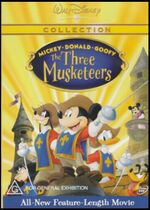 Mickey, Donald, Goofy The Three Musketeers 2004 AUS DVD Second